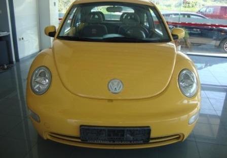Μεταχειρισμενα VW NEW BEETLE 1.600 cc, μοντ. 1/'02, 102 hp, κίτρινο, 63.612 χλμ., χειροκίνητο ...
