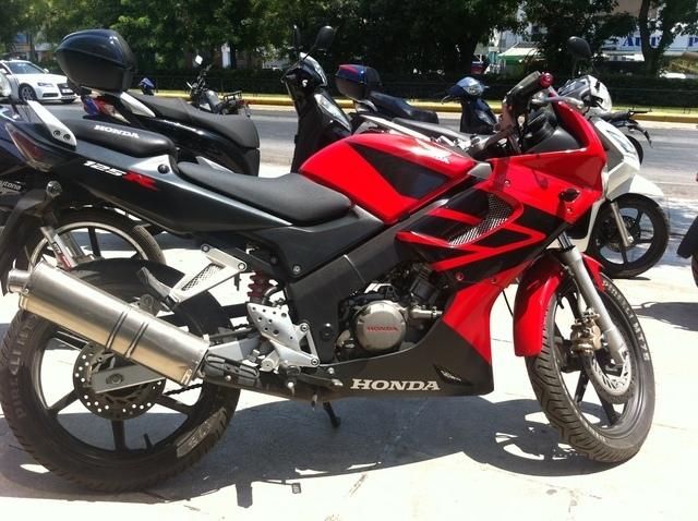 1f6f2ad4685 Μεταχειρισμενα HONDA CBR 125R, 125 cc, κόκκινο, 24.000 χλμ., καλή ...