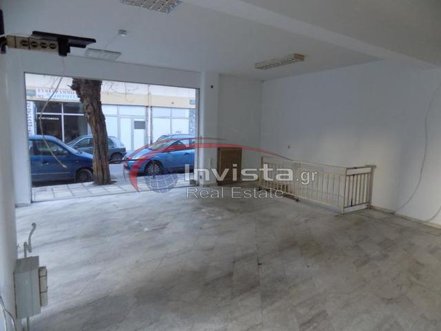 Ενοικίαση επαγγελματικού χώρου Θεσσαλονίκη (Χαριλάου) Κατάστημα 135 τ.μ.