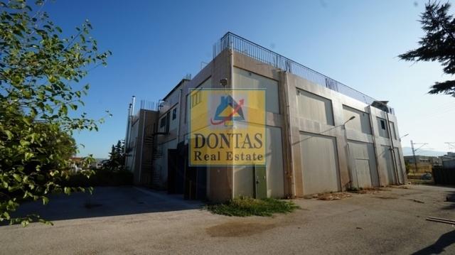 Ενοικίαση επαγγελματικού χώρου Αχαρνές Βιομηχανικός χώρος 1500 τ.μ.