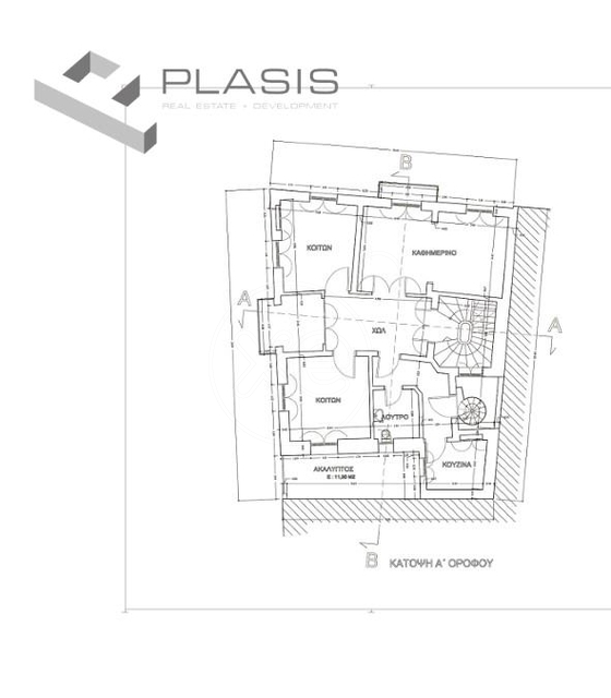 Εικόνα 3 από 3 - Κτίριο 442 τ.μ. -  Μακρυγιάννη (Ακρόπολη)