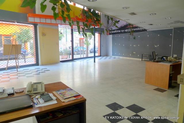 Ενοικίαση επαγγελματικού χώρου Ταμπάκικα Αίθουσα 169 τ.μ.