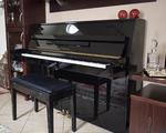Πιάνο Ορθιο Yamaha Eterna ER-C10 - Καματερό