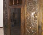 Εκκλησιαστικό ξυλόγλυπτο έπιπλο-αντίκα (ξύλινο) - Χίλτον