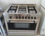 Κουζίνα γκαζιού με 5 εστιες - Αγιος Δημήτριος (Μπραχάμι)