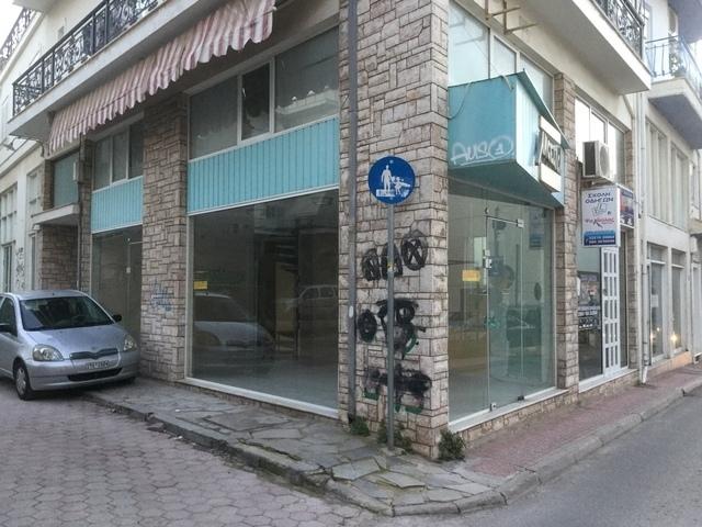 Ενοικίαση επαγγελματικού χώρου Χαλκίδα Κατάστημα 45 τ.μ.