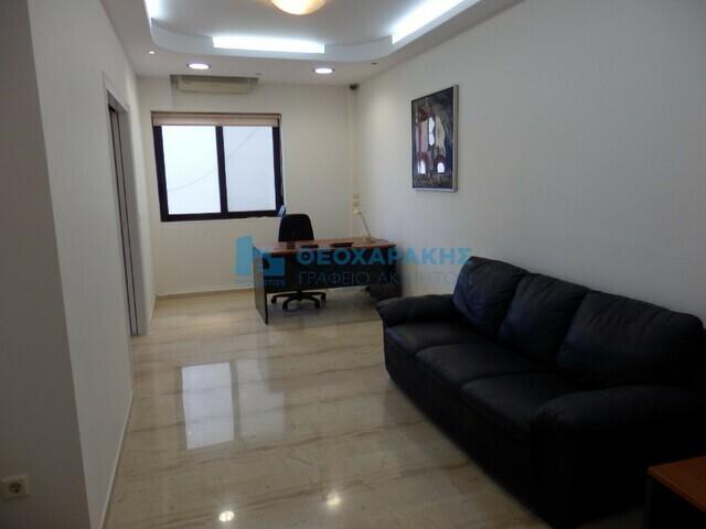 Ενοικίαση επαγγελματικού χώρου Ηράκλειο Γραφείο 48 τ.μ. επιπλωμένο ανακαινισμένο