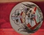 Σερβίτσιο τσαγιού πορσελάνης - Ζωγράφου