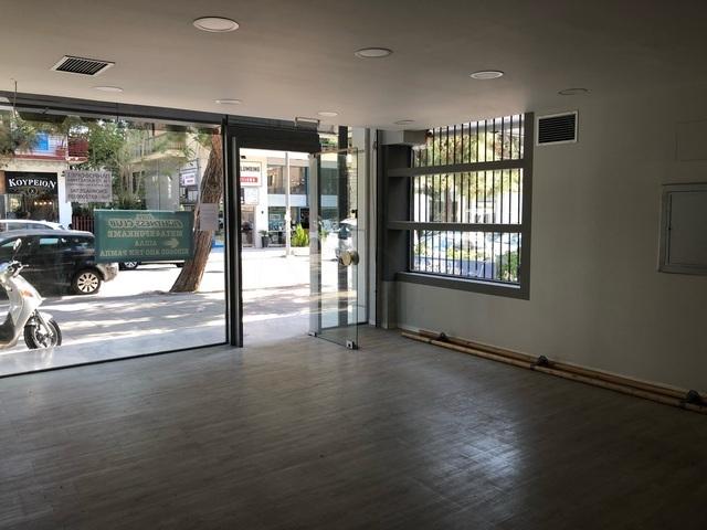Ενοικίαση επαγγελματικού χώρου Βριλήσσια (Κέντρο) Εκθεσιακός χώρος 165 τ.μ. νεόδμητο