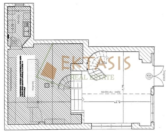 Ενοικίαση επαγγελματικού χώρου Αθήνα (Κολωνάκι) Κατάστημα 160 τ.μ.