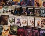 Συλλογή βιβλίων φανταστικής λογοτεχνίας - Νίκαια