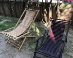 Ξαπλώστρες Bamboo - Αγία Παρασκευή